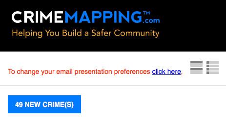 Alert Email Preferences